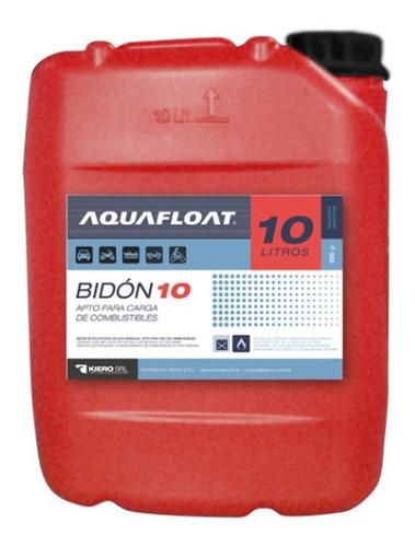 bidon de combustible aquafloat 10lts (no envios)