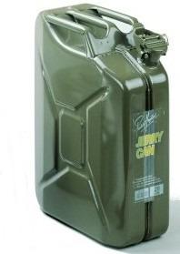 bidon metalico p/combustible 20 litros (aleman)