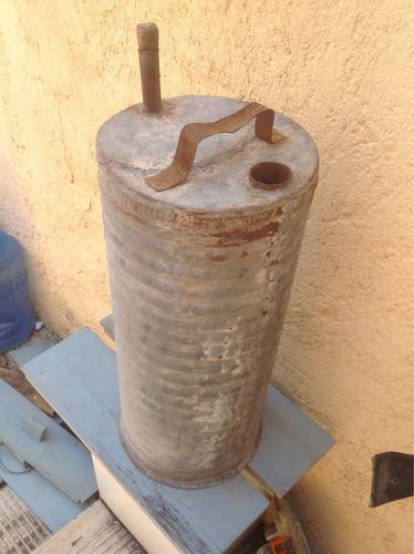 bidón o bote antiguo lamina de zinc