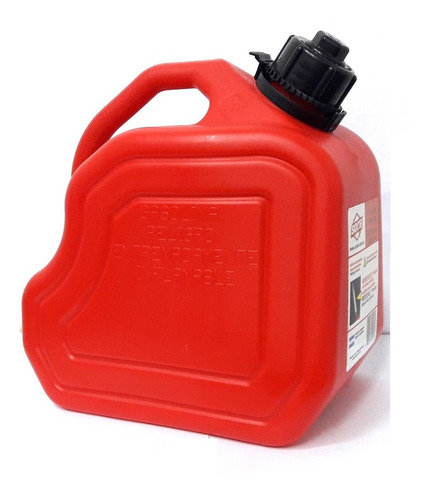 bidon para combustible 10 litros c/ pico soch ind nacional
