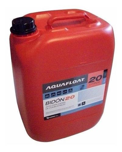 bidon para combustible aquafloat 20lts (no envios)
