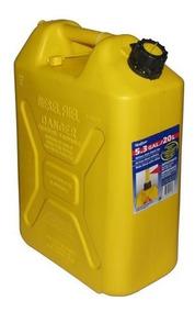 bidones20 litros de combustible de gasolina puede 3x 20 Litro de plástico verde 3 Pico Vertedor