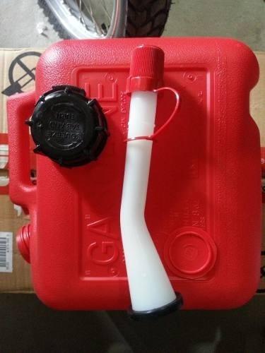 bidon para gasolina de 2 galones-homologado-nuevo-importado