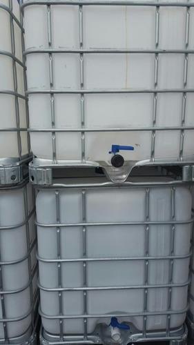bidones de plasticos de 1000 litros ((contenedores))