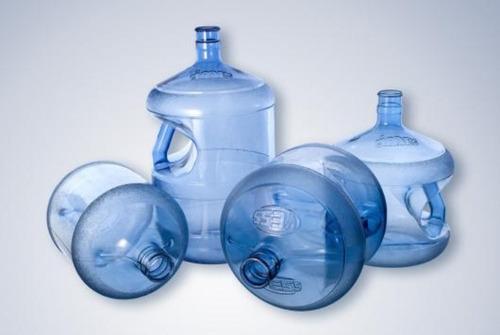 bidones para agua recargables con manija inclinada 12 lt