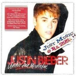 bieber justin under the mistletoe cd nuevo