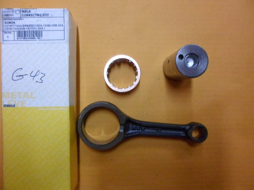 biela motor cg titan fan 150 metal leve - bl9171
