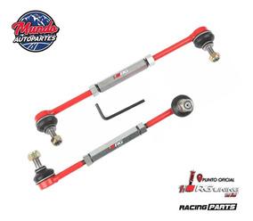 Bieletas De Suspension Regulable Fiat Linea Kit X2 Rojo