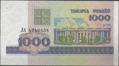 bielorusia 1000 rublei 1998 p16