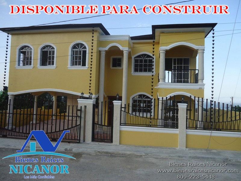 bienes raíces nicanor  y constructora
