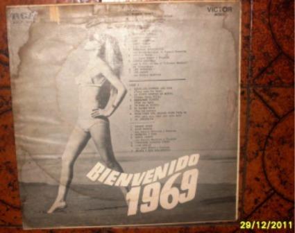 bienvenido 1969, vinilo original...