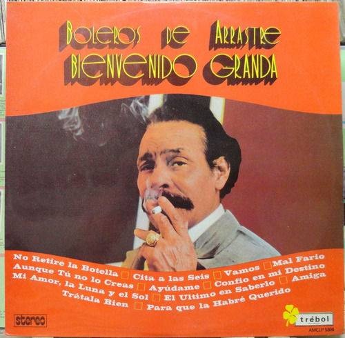 bienvenido granda boleros arrastre lp amc 1975 stereo