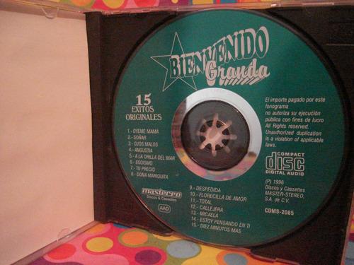 bienvenido granda cd 15 exitos originales