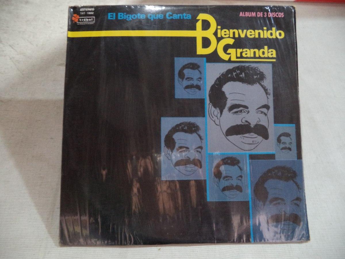 Bienvenido Granda El Bigote Que Canta 1965 Album De 3 Lps 60000