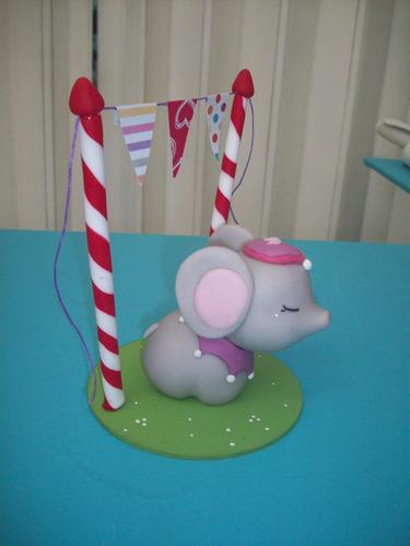 bienvenidos al circo- adorno de torta