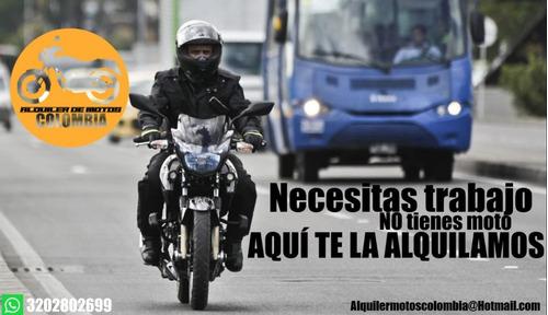 bienvenidos. somos una empresa dedicada al alquiler de motos