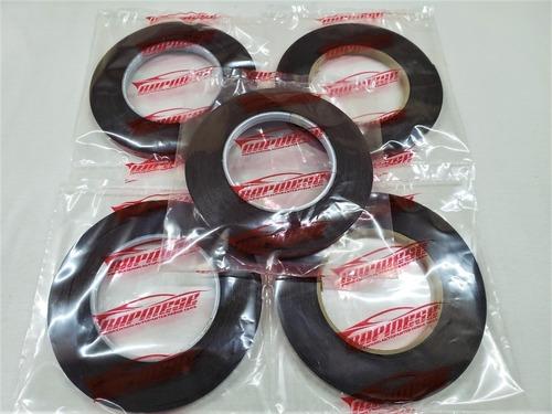 bifaz cinta espumosa negra doble adhesivo 10 mm x 3 m.