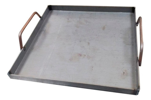 bifera plancheta 500 x 500 x 3mm hierro hornalla parrilla mm