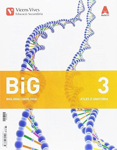 big 3 atles anatomia (aula 3d) (paperback) (libro en catalá