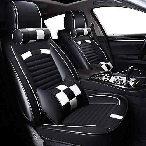 Fundas para asientos ya referencias set QW Mercedes Sprinter imitación cuero negro