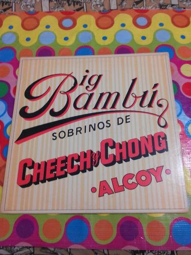 big bambú lp sobrinos de cheech y chong 1972. importado usa.