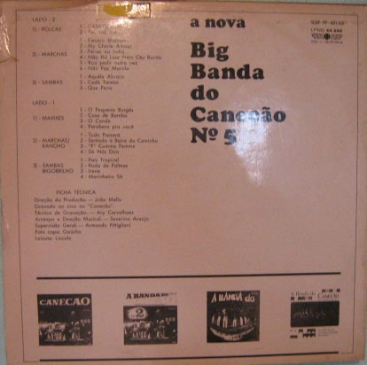 big banda do canecão - nº 5 - 1969