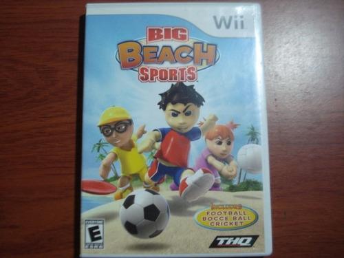 big beach sports nintendo wii y wii u