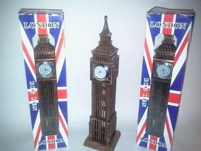 big-ben reloj cuarzo y pewter  adorno de metal.