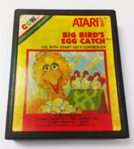 big birds egg catch atari 2600 cartucho retromex tcvg