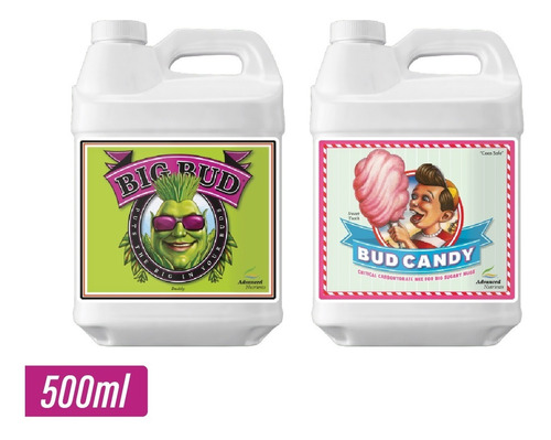 big bud + bud candy 500ml advanced nutrients