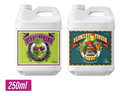 big bud + flawless finish 250ml advanced nutrients