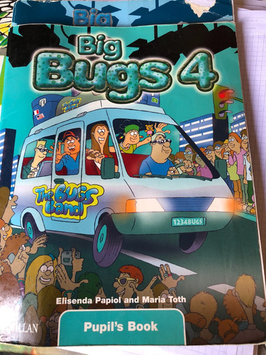 big bugs 4 pupils book- mcmillan