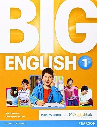 big english 1 book british ed.- with my english lab pearson