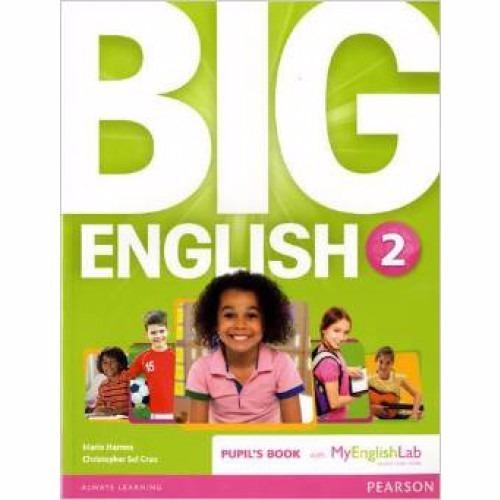 big english 2 book british ed.- with/my english lab pearson