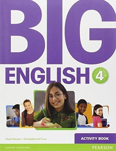big english 4 - activity book - pearson - british edition