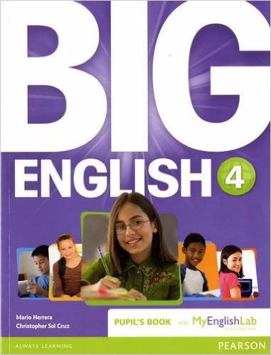 big english 4 book british ed.- with/my english lab pearson