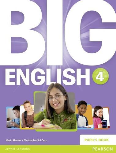 big english 4 - pupils book - pearson - british edition