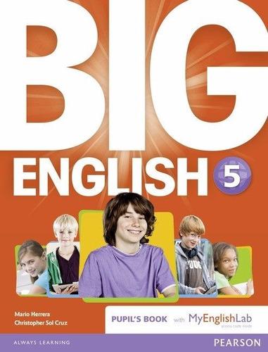 big english 5 book british ed.- with my english lab pearson
