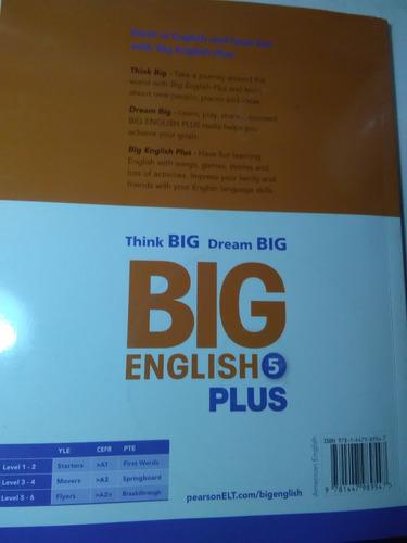 Big English 5 Plus Workbook + 2 W/cd-rom - $ 516.74 en