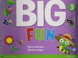 big fun 3 book with/cd-rom pearson - rincon 9
