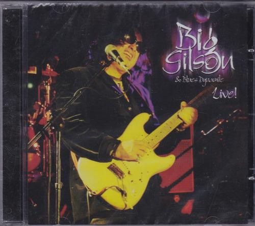 big gilson & blues dynamite - cd live - lacrado de fábrica