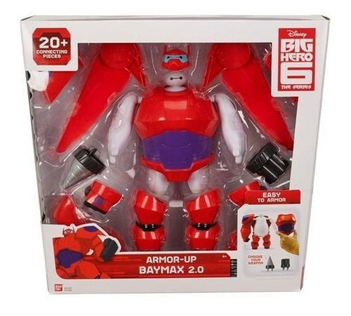 big hero baymax fig armadura p/ensamblar int 41295 original