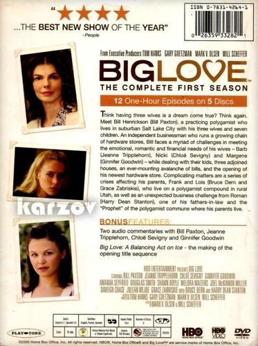 big love temporada 1 uno completa importada dvd