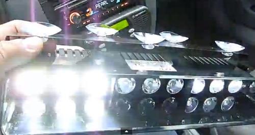 big nine hi power strobe flashing light 9 led