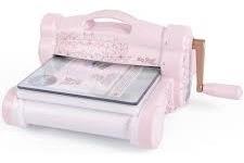 big shot plus edición limitada rosa blush...con troqueles!!!