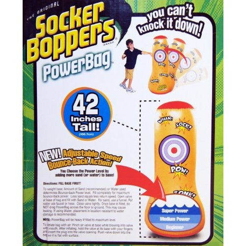 Socker Boppers Power Bag: Big Time Toys Socker Bopper Poder Bolsa