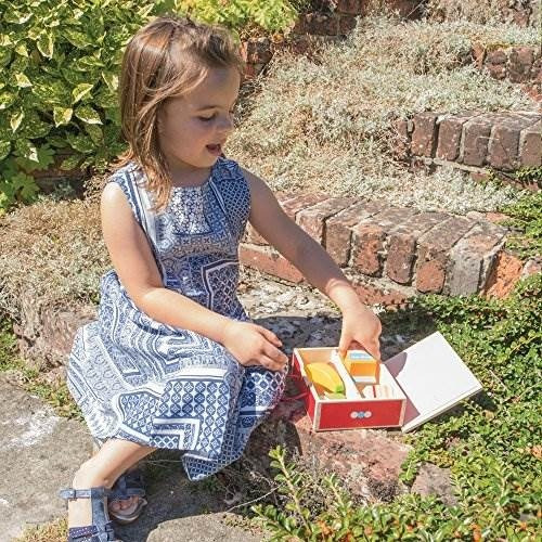 Bigjigs Toys Caja de Alimentos de Madera