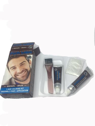 bigote tinte for men hombre tintura  barba negro y cafe