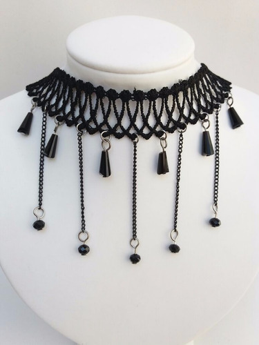 bijuteria atacado 10 colares gargantilha choker retrô gótico