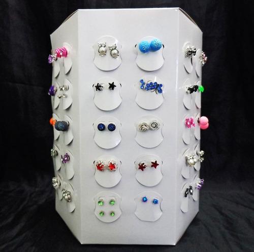 bijuterias atacado kit 60 brincos sortidos para revenda !
